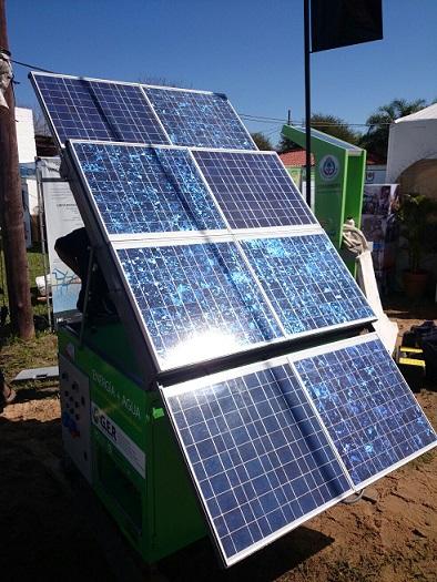 Prototipo de un equipo de bombeo de agua alimentado por energía solar