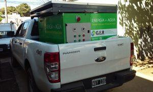 El prototipo de bomba de agua fotovoltaica puede ser trasladado en un vehículo utilitario