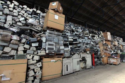 Los Residuos electrónicos ya requieren un plan de tratamiento y reciclado planificado