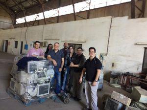 Profesionales del CEGAE Trabajan en un protocolo para la instalación de una planta de reciclado y tratamiento