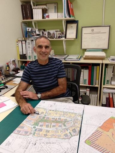 Walter Scheinkman renovó arquitectónicamente la ciudad de Ashdod