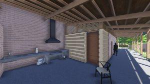 El fogón. Espacio destacado en el diseño de las viviendas sociales Qom