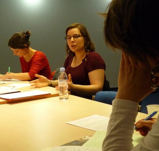 Investigadora Francesa visitó la Facultad de Humanidades para brindar cursos y conferencia sobre