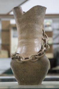Pieza que puede encontrarse en la sección Antropología Historica del Museo Juan Alfredo Martinet