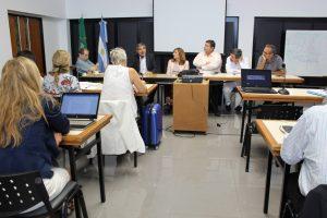 La Rectora de la UNNE, Prof. María Delfina Veiravé, y la Secretaria General de Ciencia y Técnica de la UNNE, Dra. María Silvia Leoni, se reunieron con autoridades nacionales del área científica