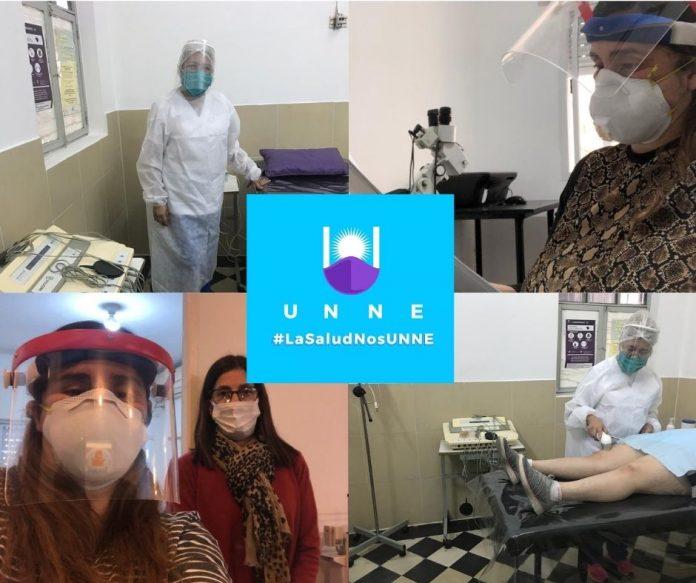 Profesionales de la Dirección de Salud Universitaria UNNE brindan ATENCIÓN PRESENCIAL MÉDICA a los estudiantes