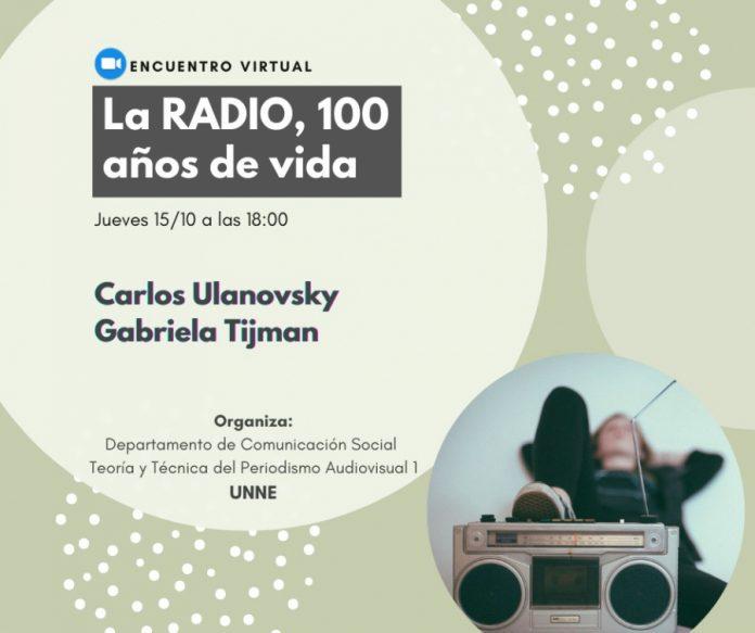 Charlas virtuales, 100 años de Radio