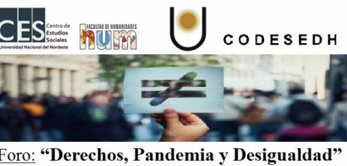 Foro Derechos, Pandemia y Desigualdad
