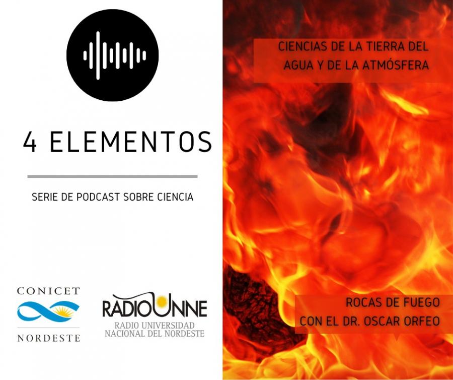 Serie de Podcast 4 Elementos