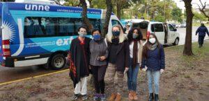 Estudiantes de Brasil, asistidos por la UNNE para regresar a su país vía Paso de los Libres