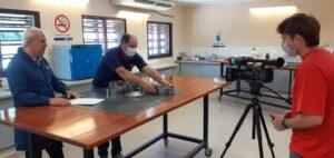 Filamación Laboratorio Geotécnia Ingeniería