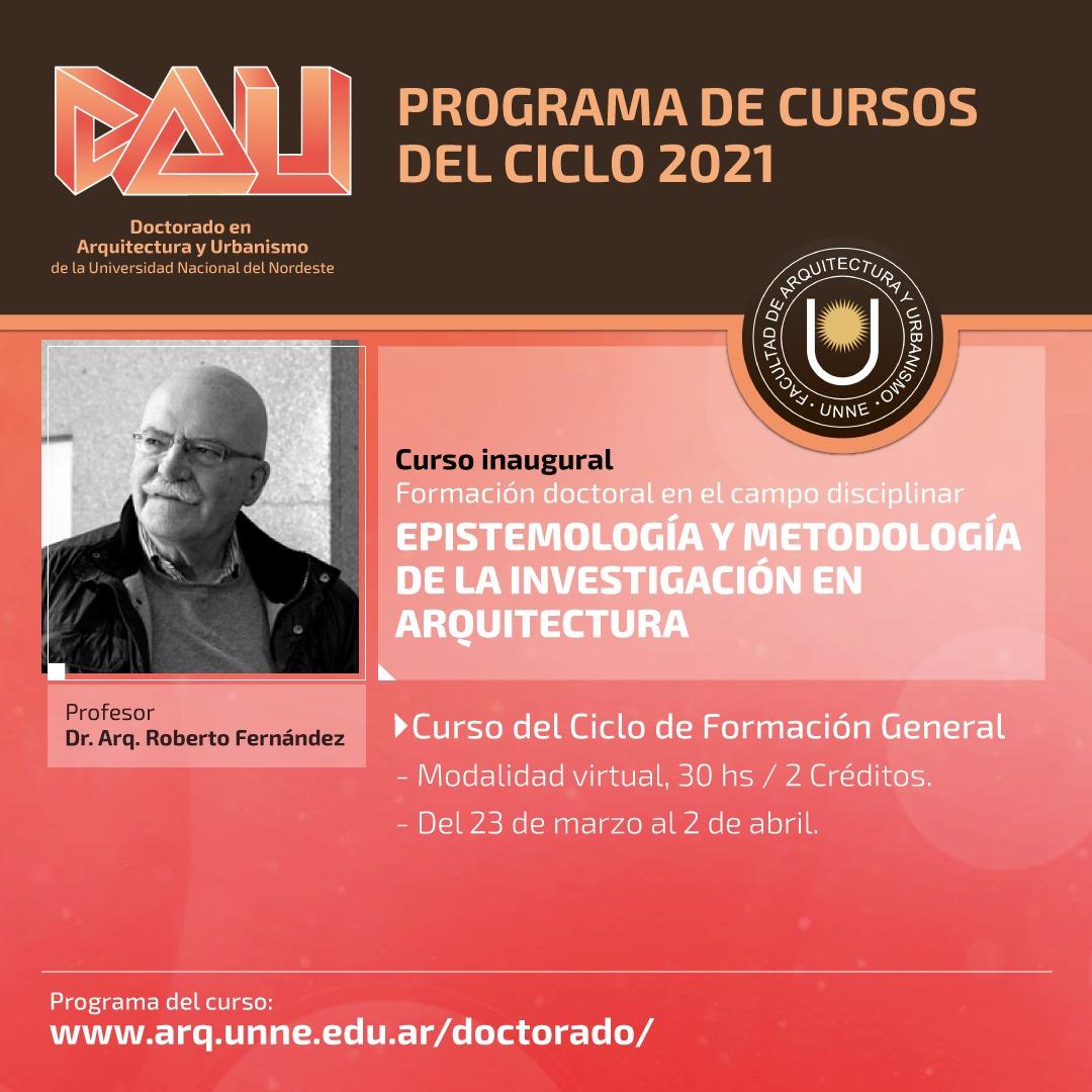 Doctorado de la Universidad Nacional del Nordeste en Arquitectura y Urbanismo