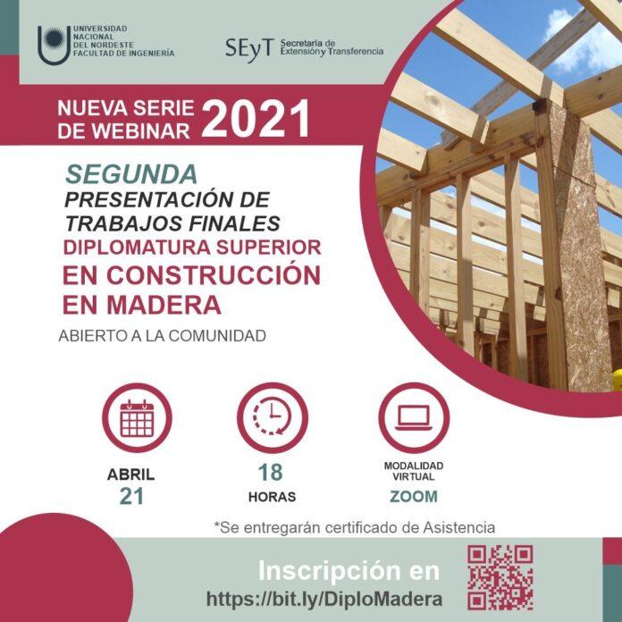 Segunda Presentación Trabajo Finales Construcción en Madera