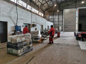 Las cargas son enviadas a la empresa Silkers en Buenos Aires.