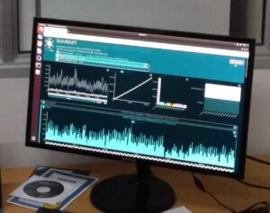 En las pantallas se observan los resultados de las secuenciaciones