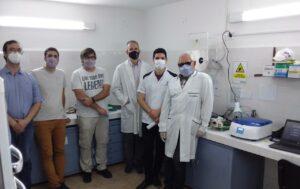 Investigadores del Centro Científico Tecnológico CONICET – INTA Rafaela, capacitan al personal del IMR-UNNE