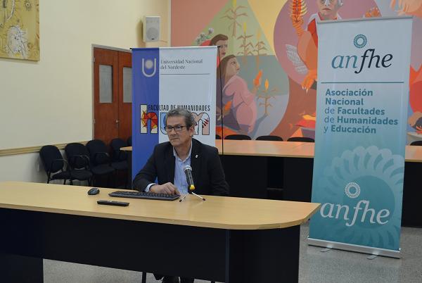 Prof. Aldo Lineras, Decano Facultad de Humanidades UNNE