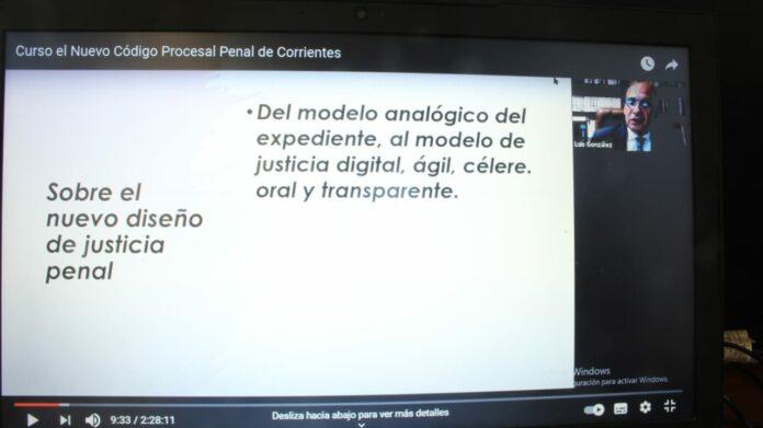 encuentro, a cargo del Profesor Ramón Luis González