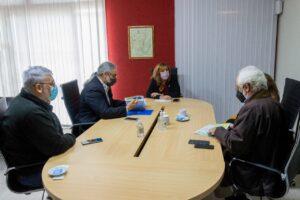 Del encuentro, participaron también la secretaria de Ciencia y Técnica de la UNNE, Dra. María Silvia Leoni; el subsecretario de Desarrollo de Economías Regionales, Luis Almirón; y el decano de la Facultad de Ingeniería, Ing. José Basterra.