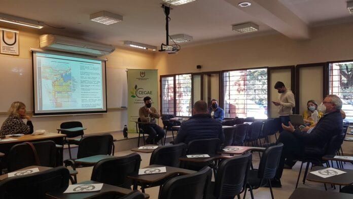 Especialistas del CEGAE aportan al proyecto de Zonificación y Distritos de la ciudad de Resistencia.