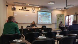 El director del Departamento de Hidráulica de la Facultad de Ingeniería, Jorge Pilar también participó del encuentro.